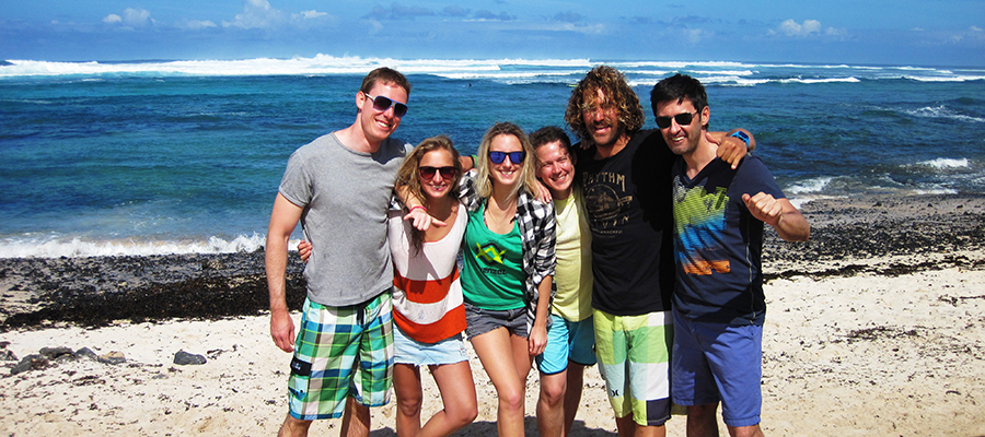 Surf lessons on the 02.12.2013 – Learn how to surf on Fuerteventura!