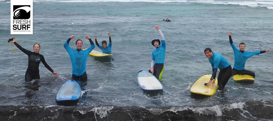 Surfing Fuerteventura 16.01.2014