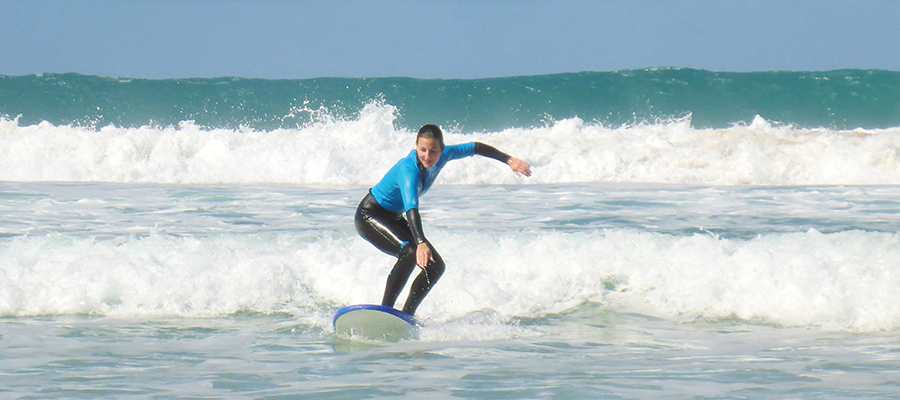Good waves, sunshine and a lot of smiling faces: Surfing on the Canary Isles