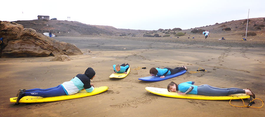 Surf lessons on Fuerteventura – 15.02.2014