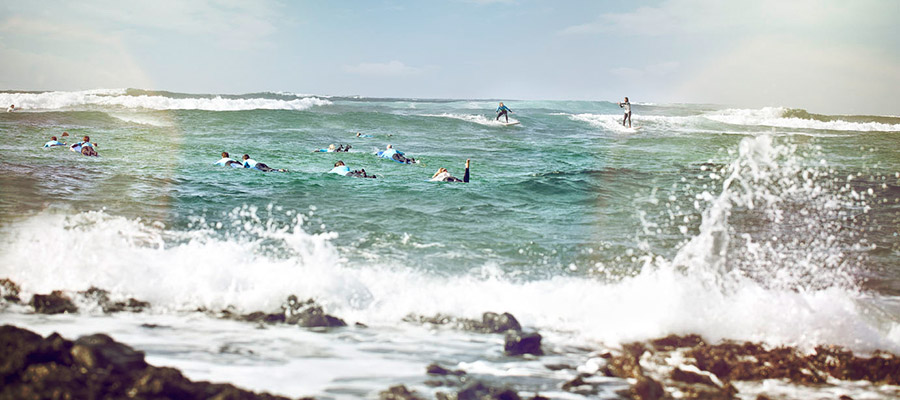 Surfing on the Canaries: Surf course on the 19.03.2014