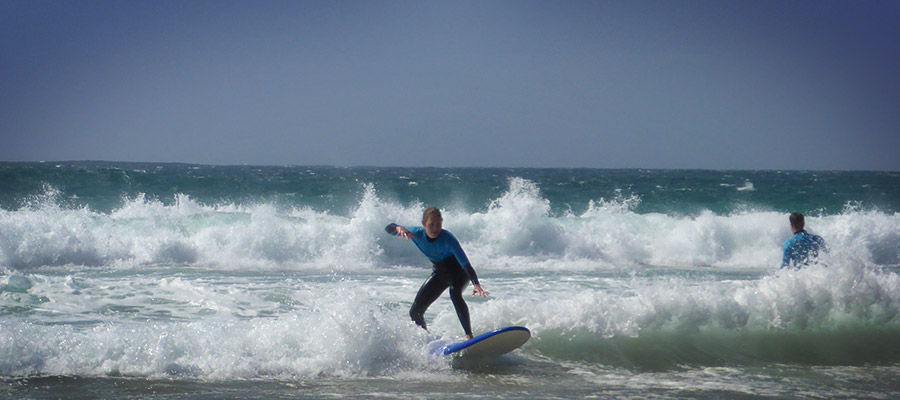 Learning to Surf at Fuerteventura: Our surf courses on the 26.03.2014