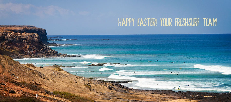 Happy Easter from El Cotillo at Fuerteventura