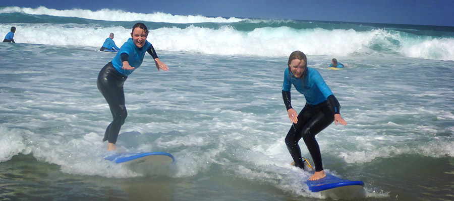 Surfing at Fuerteventura: Our course at the 04.04.2014