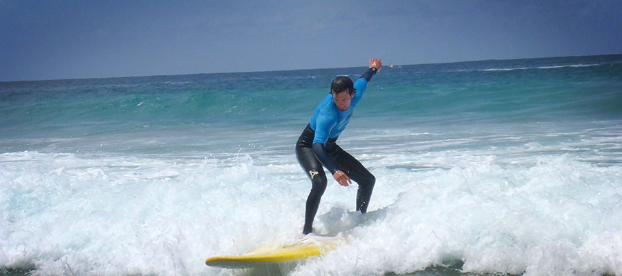 Surfing with Freshsurf: Our courses on the 22.04.2014