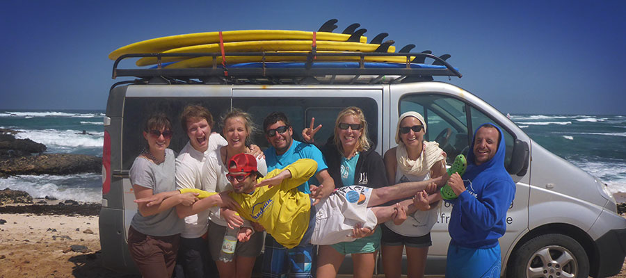 Last-Minute-Surf on a normal Saturday on Fuerteventura – Learn how to surf on Fuerte