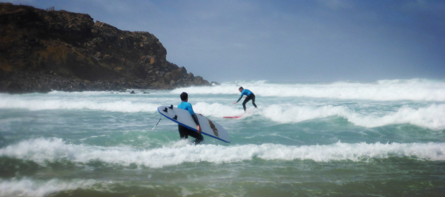 Surfing at Fuerteventura: Our surf course at the 01.04.2014