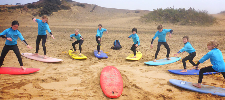 Surfing at Fuertventura: 08.04.2014