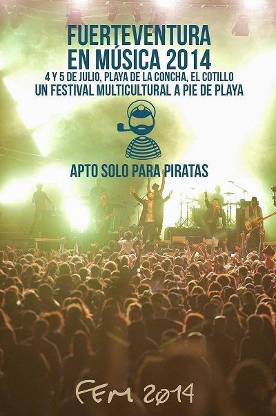 "Cotillo out of control – the surf camp is looking forward to ""Fuerte de Musica"""