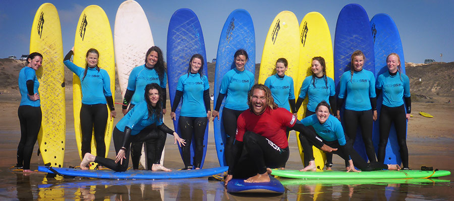 Surfing in El Cotillo: Our surf courses on the 12.05.2014