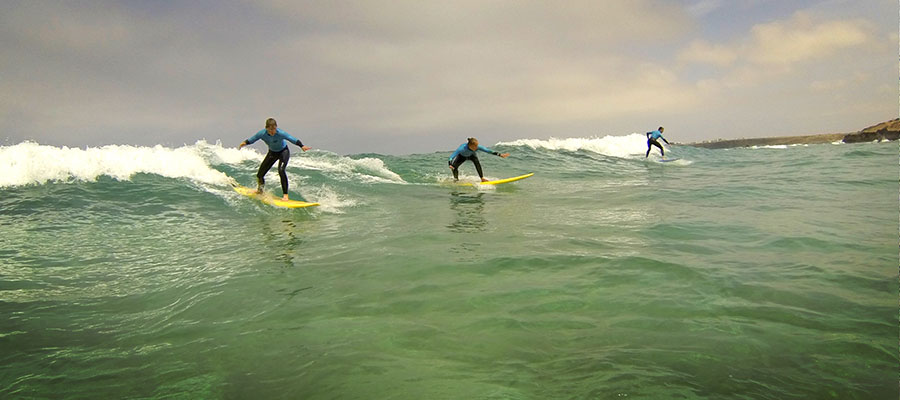 Surfing at Freshsurf: Our surf courses on the 14.05.2014