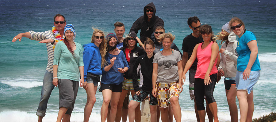 Sun, wind and waves: Our surf courses on the 30.05.2014