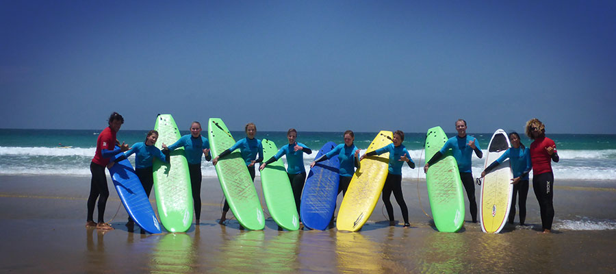 Surfing and Yoga at Freshsurf: Our surf course on the 03.06.2014