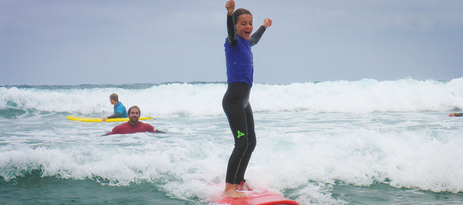 Surfcamp at Fuerteventura: Surf courses on the 16.06.2014