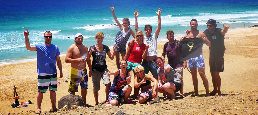 Surfing at Fuerteventura: Our courses on the 17.06.2014