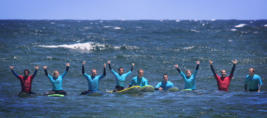 Learn to surf with Surfcamp Fuerteventura on the Canary Isles