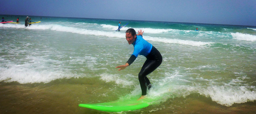 Our pictures from today's surf courses at Fuerteventura
