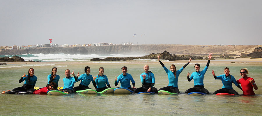 Foto – Special of last week in our surfcamp at Fuerteventura