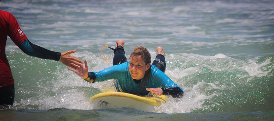 Surfing in El Cotillo, Fuerteventura: Foto-special of the calendar week 26