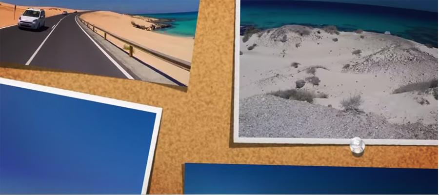 Surfing at our beautiful island Fuerteventura