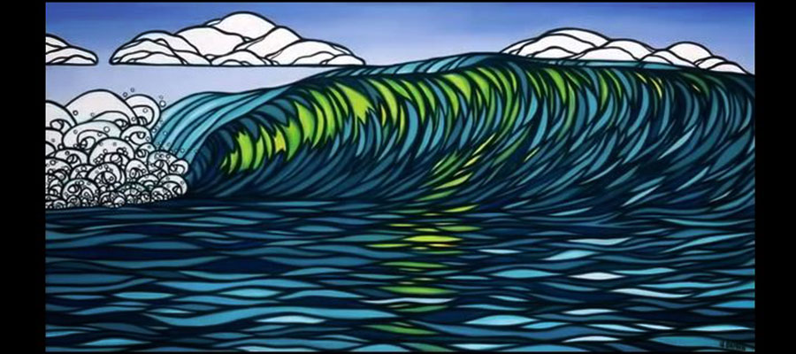 Surf-Art by Heather Brown – Our Team at Fuerteventura is sold on it