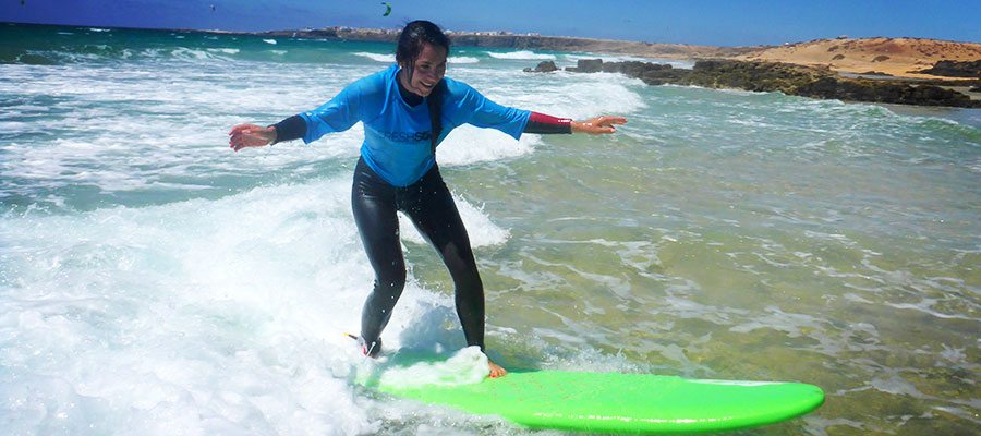 Surf holidays at Fuerteventura: Our surf courses on the 22.07.2014
