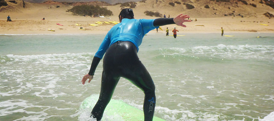 Surfing Fuerteventura: Our surf lessons on the 1st of July 2014