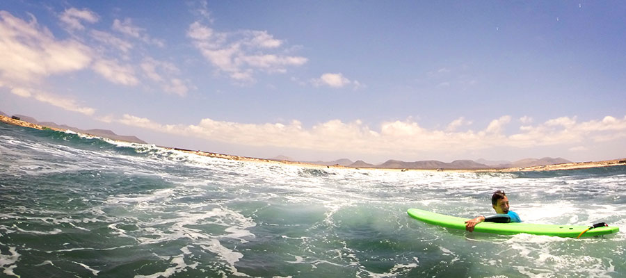 Foto-Special of our surfcamp in Fuerteventura of the last week