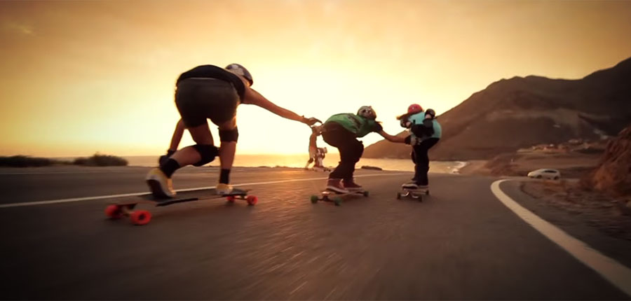 Our surfcamp on Fuerteventura is on fire – watch this video of the longboard girls crew