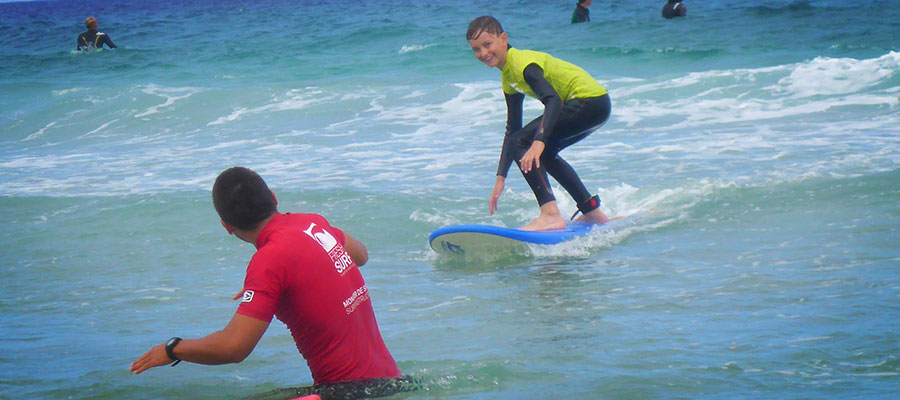 Surfcamp at Fuerteventura: our surf courses on the 04.08.2014