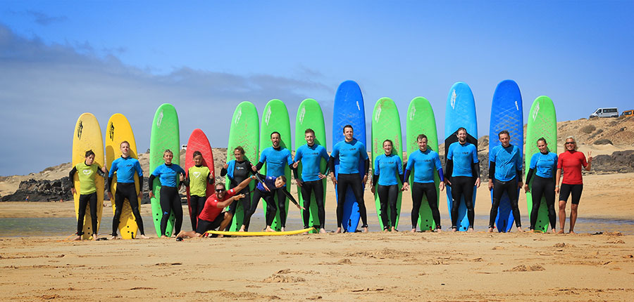 Surf courses on the 08.08.2014 in our surfcamp at Fuerteventura