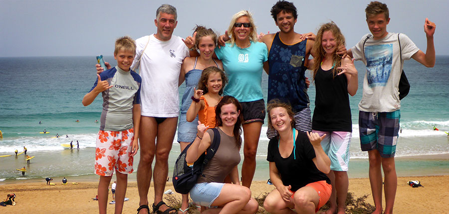 Catching the waves – surf courses on 27.08.2014