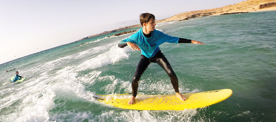 Surfing at Fuerteventura: Our courses on Saturday the 02.08.2014