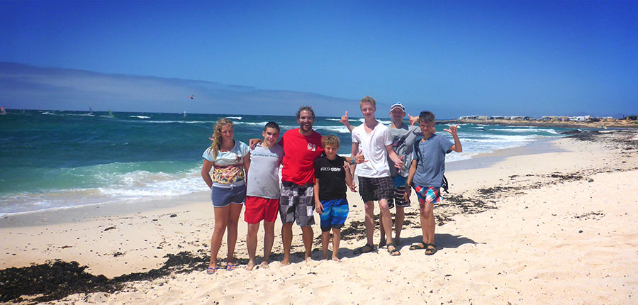 The surfer island Fuerteventura: Your surf lessons on the 11.08.2014
