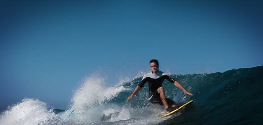 International surf film festival on fuerteventura
