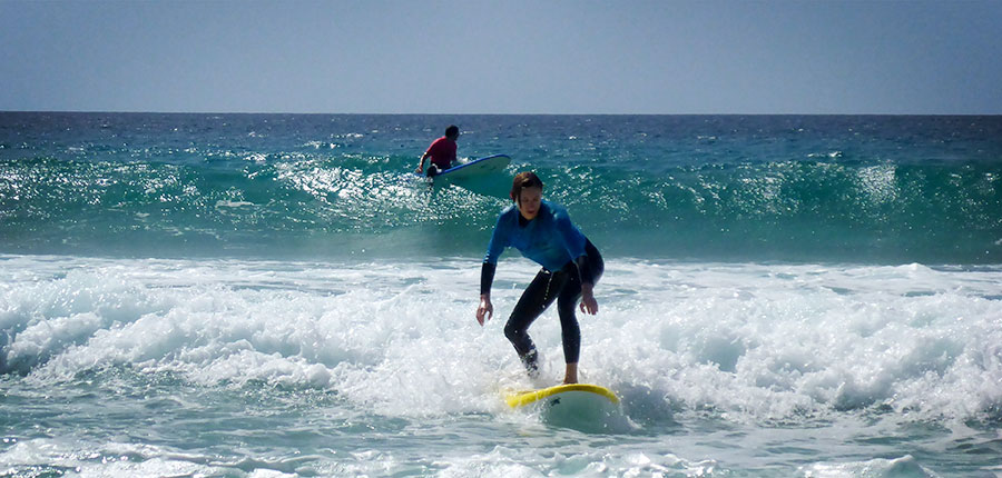 Great success at the beach on fuerteventura – surf courses on the 11th of september