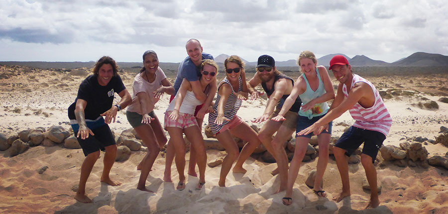 Lots of new faces in our surfcamp on Fuerteventura – Surf lessons on 19 September 2014
