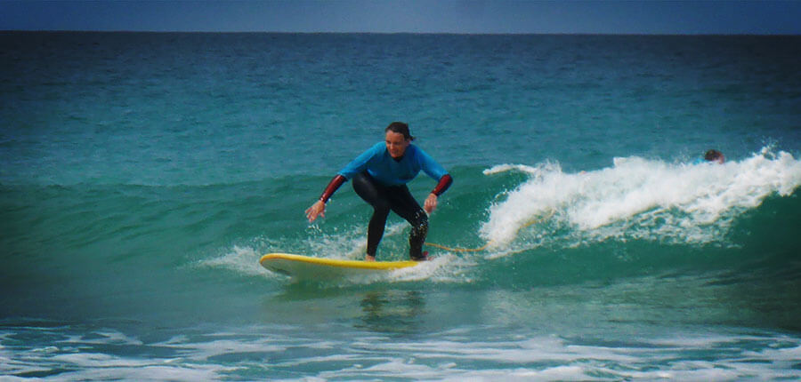 Lovely waves and more – our surfing lessons on 26 September 2014