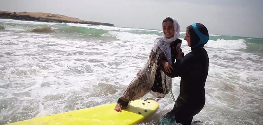 Easkey Britton – the first woman to surf Iran