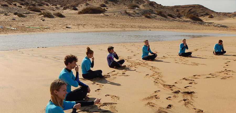 Yoga and Surfing on fuerteventura – our surfing lessons on 09 october 2014