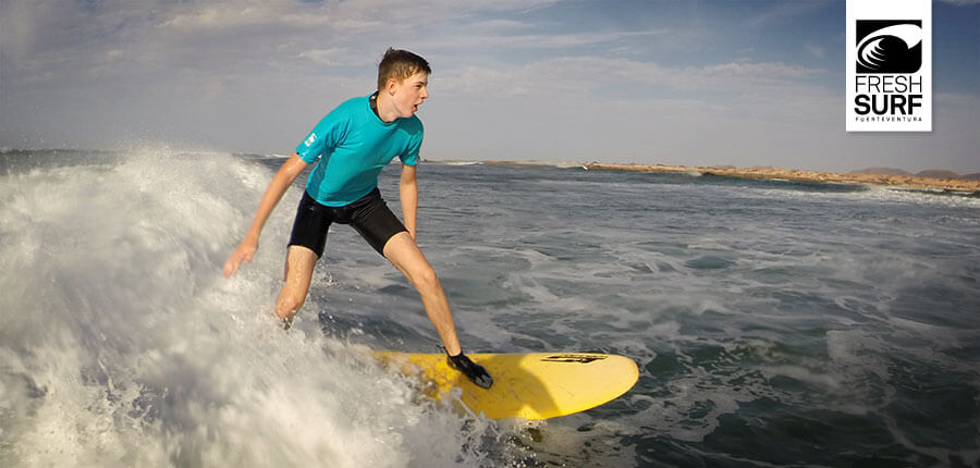 Learning to surf on Fuerteventura – surfing lessons on 28 October 2014