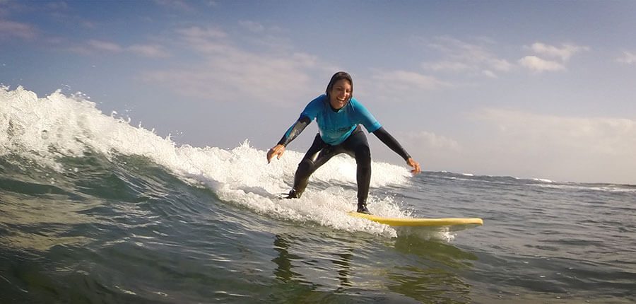 Surfcamp Fuerteventura – our surfing lessons on 2 October 2014
