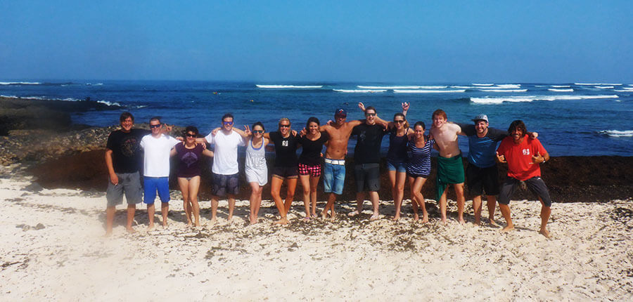 Learning to surf on Fuerteventura – our intermediate course on 3 October 2014