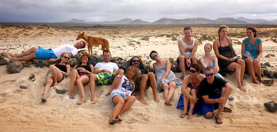 Learning to surf on Fuerteventura – our surfing lessons on 07 October 2014