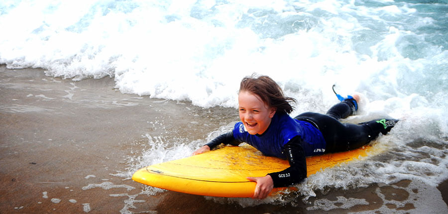 A new week in our surfcamp on Fuerteventura – Surf lessons on 27 October 2014