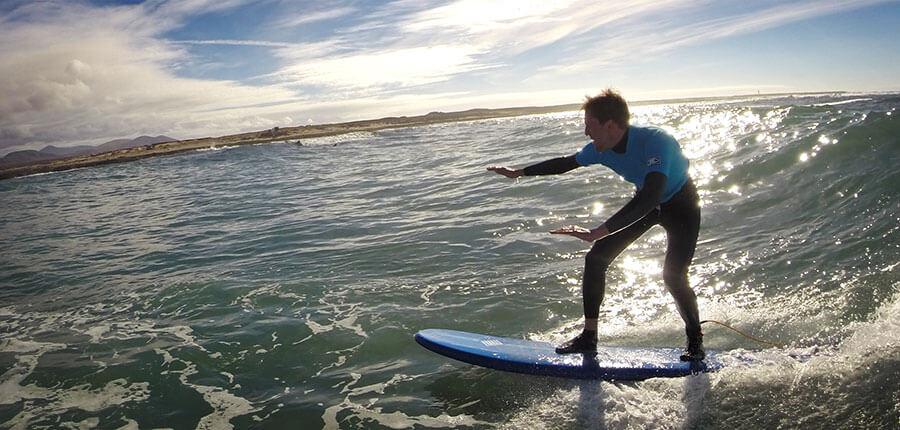 big waves for our surfcamp on fuerteventura – surfing lesson on 11. November 2014
