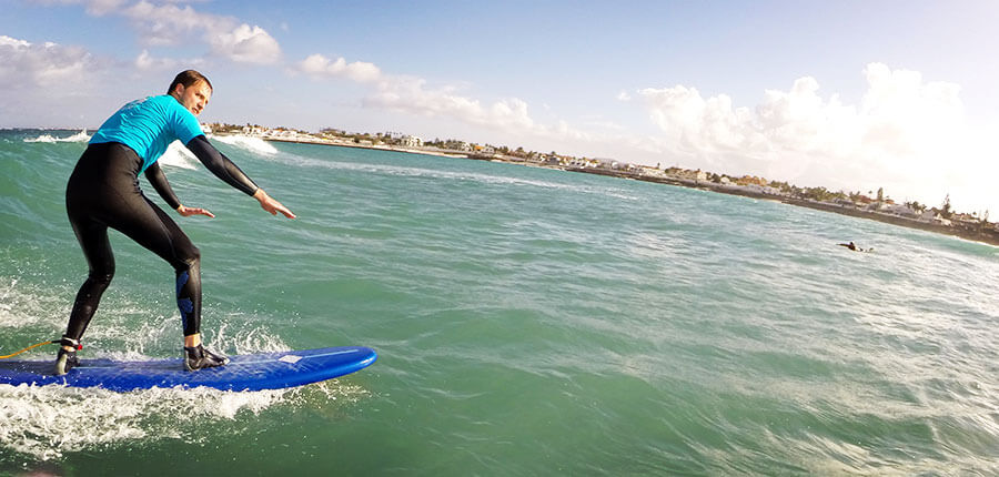 Surfing lesson on Fuerteventura – 15th of November 2015