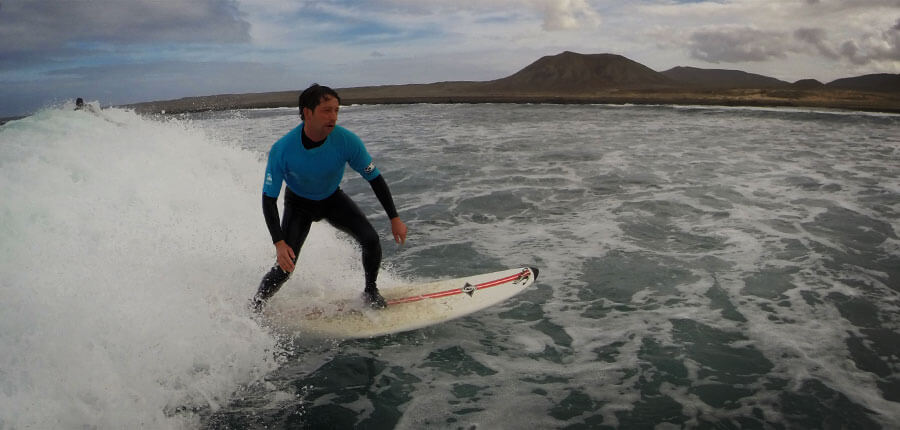 Intermediate surfing on fuerteventura – surfing lessons on 27. November 2014
