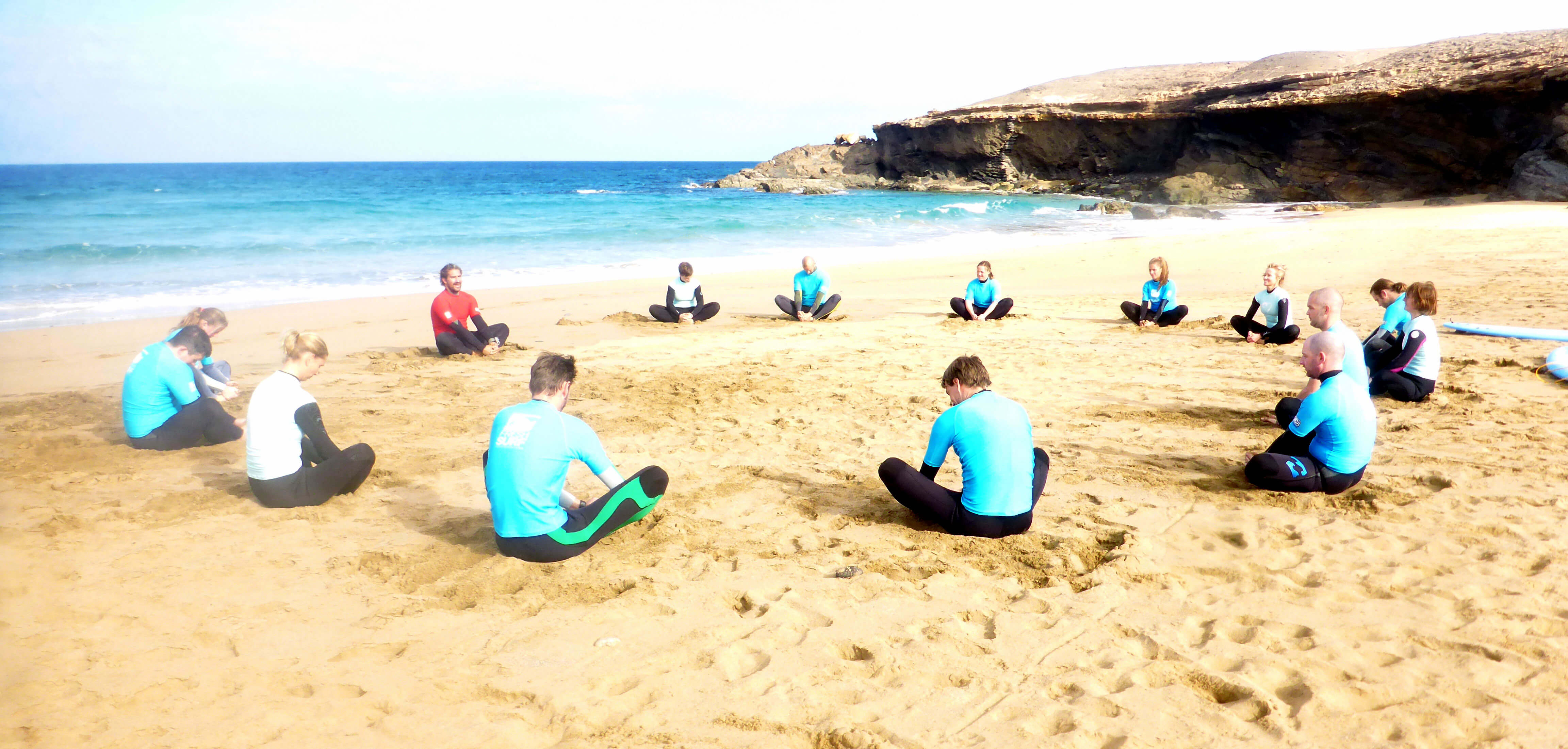 Escaping the European Winter – surfing in December on Fuerteventura. Our surf lessons on 29 of December 2014