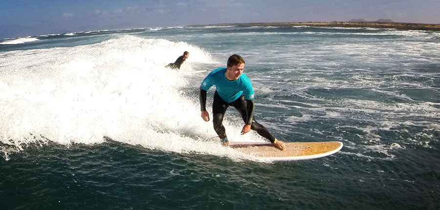 The sun is back in our surfcamp on Fuerteventura – Surfing pictures of 2 December 2014